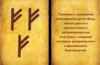 znachenie runy fehu