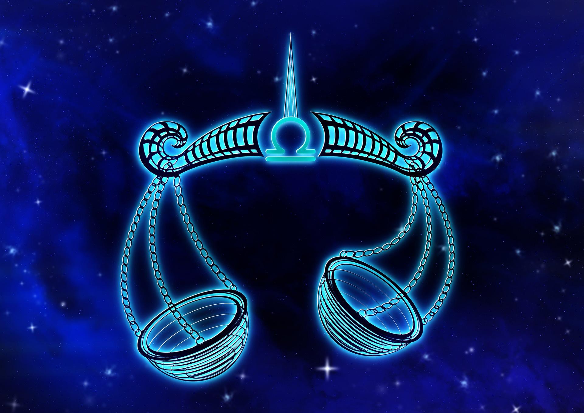 znak zodiaka kosmos vesy