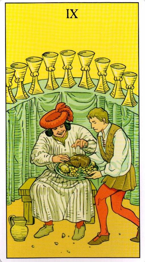 devyatka kubkov v russkom taro