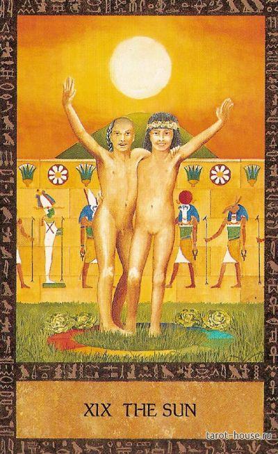 solnce v egipetskom taro radost bytiya