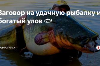 zagovory na rybalku i ih celesoobraznost